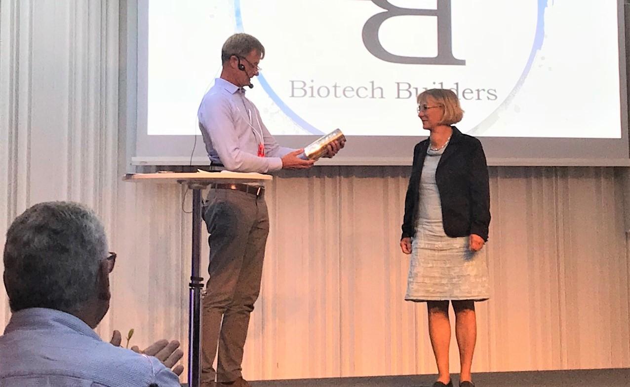 Lotta recives Biotech builders award