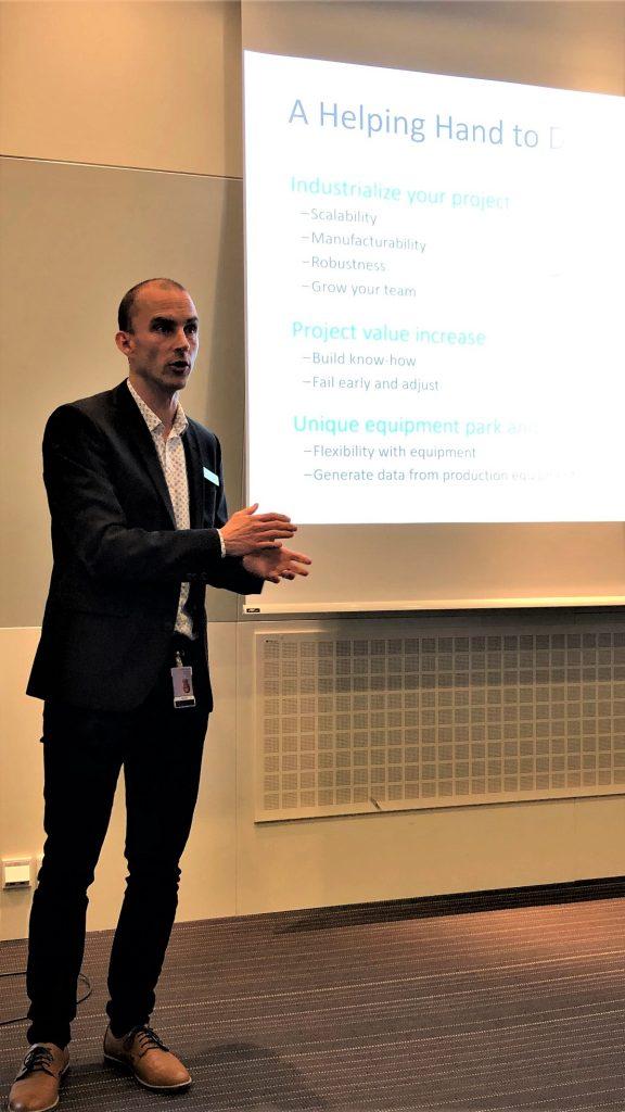 testa center 1 year Jesper Hedberg