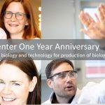 testa center 1 year frontpage