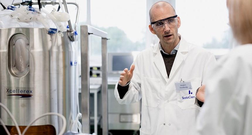 Jesper Hedberg in Testa Center