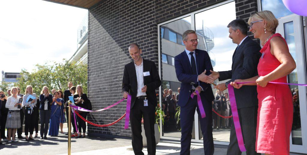 Inauguration Testa Center Mikael Danberg Emmanuel Ligner Lotta Ljungqvist Jesper Hedberg