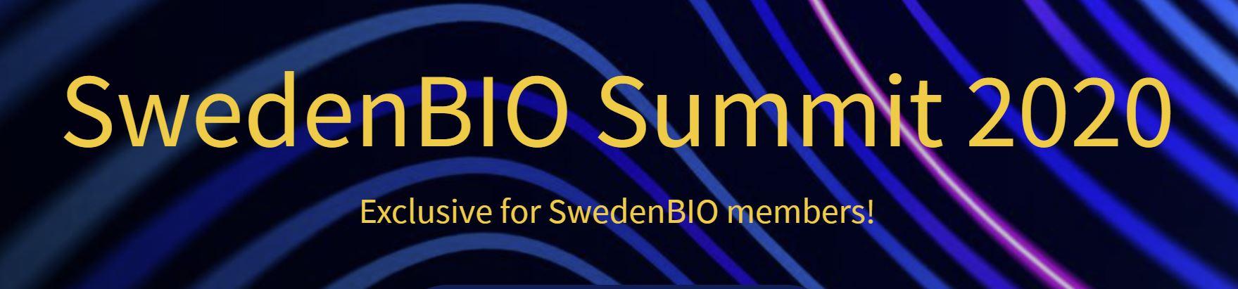 Swedenbio summit 2020