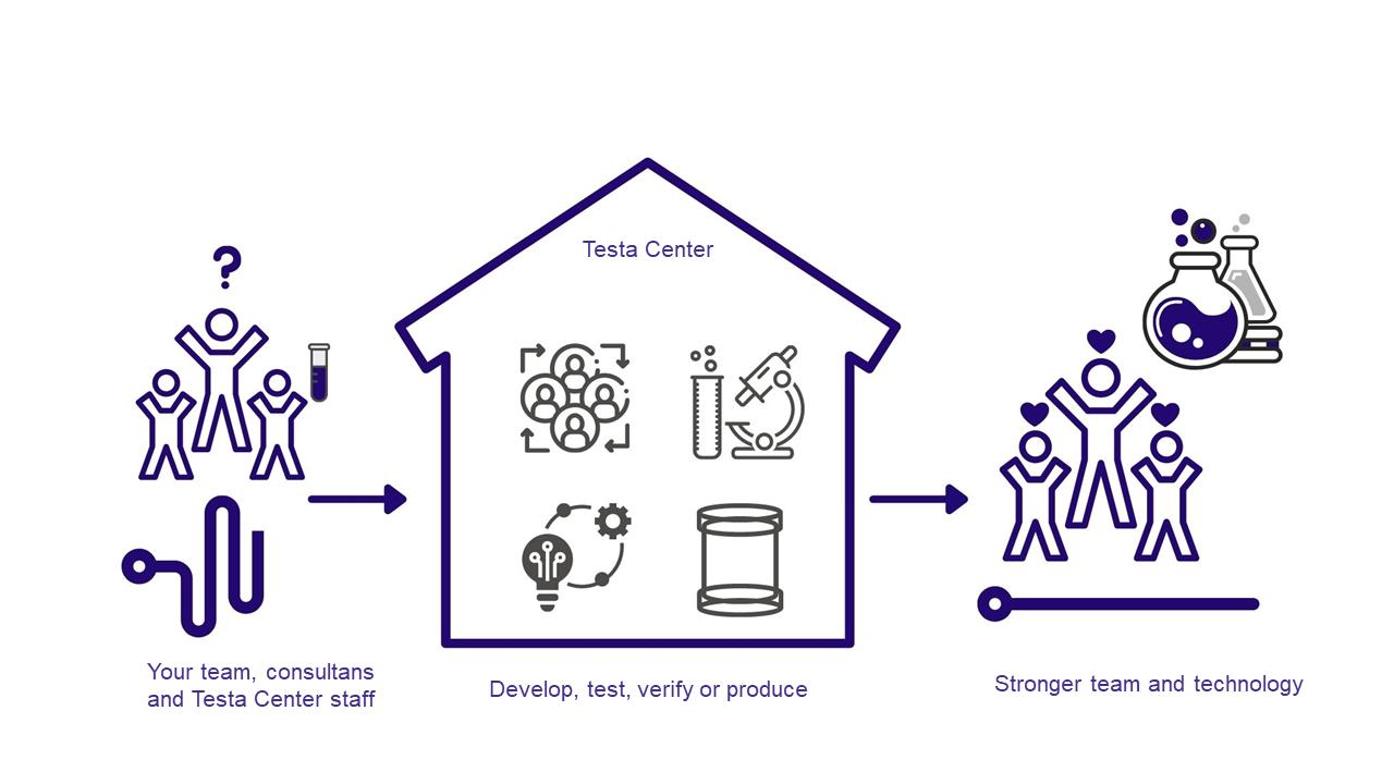 The Testa Center Process