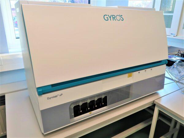 Gyrolab xp workstation